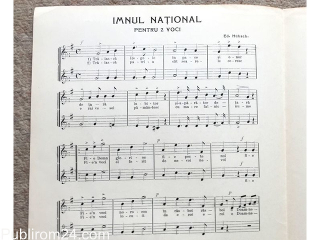 Imnul National, 1908 - 3/6